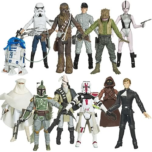 Star Wars Legacy Collection Action Figures Wave 10 Case