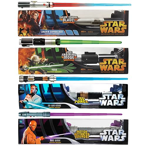 Star Wars Electronic Lightsaber Ast 8 Rev 8 Entertainment Earth