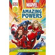Marvel Amazing Powers DK Reader 3 Paperback Book