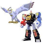 Mighty Morphin Alien Rangers Ninja Megazord and White Ninja Falconzord Set Super Mini Pla Model Kit P-Bandai Exclusive