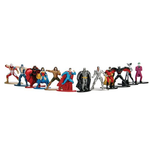 Dc Comics Nano Metalfigs Mini Figures Wave 4 Set