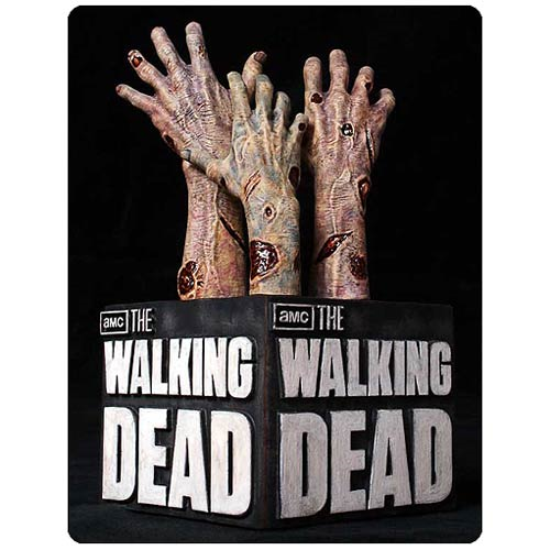 Walking Dead Logo 6 3/4-inch Bookend Statue