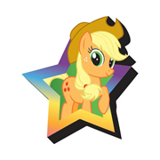 My Little Pony Applejack Funky Chunky Magnet