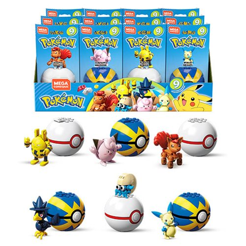 Mega Construx Pokemon Poke Ball Series 9 Random 3-Pack