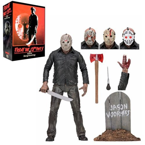 friday the 13th part 5 dream sequence jason ultimate action figure