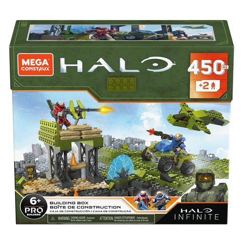 Halo Infinite Mega Construx Building Box
