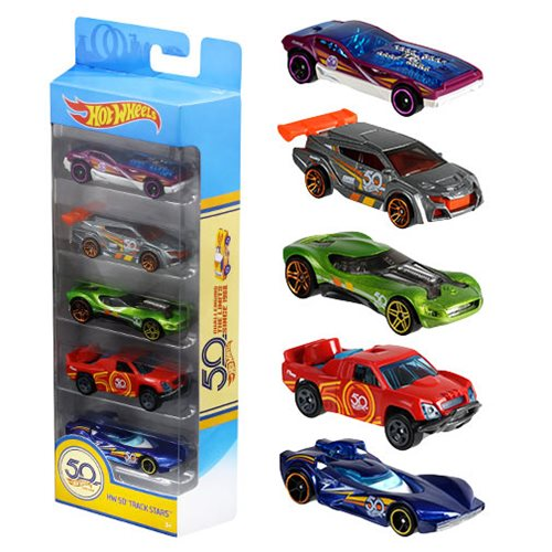 Hot Wheels 50th Anniversary Basic Vehicle 5-Pack
