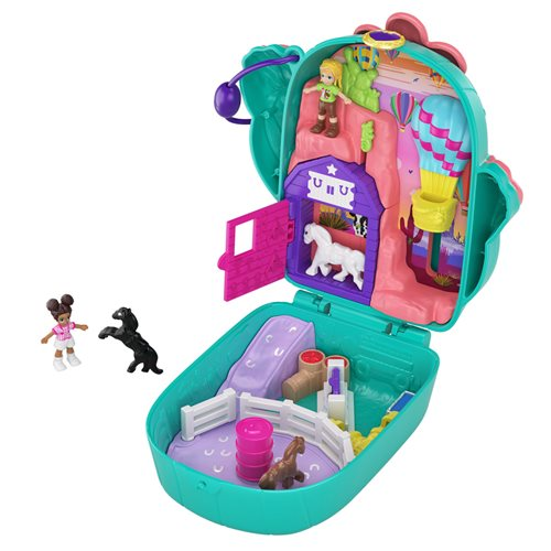 Polly Pocket Pocket World Cactus Cowgirl Ranch Compact