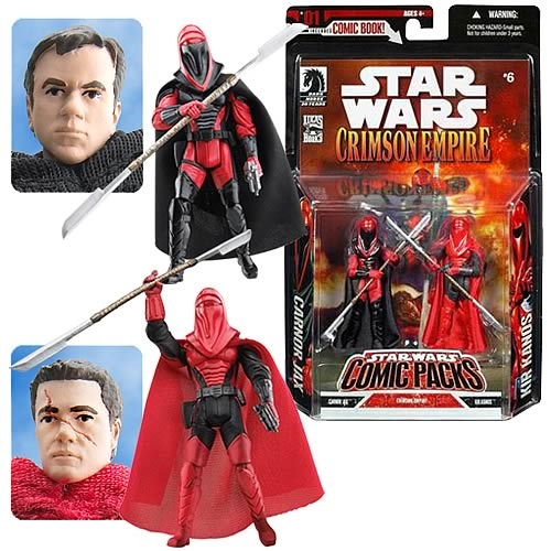 Exclusive Star Wars Kir Kanos & Carnor Jax 2-Pack
