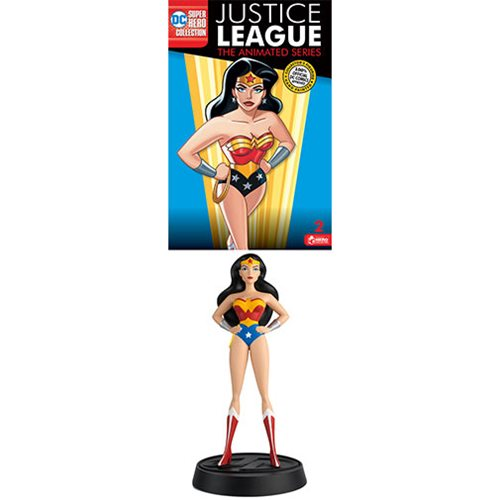 DC Justice League The Animated Series Series 1 Wonder Woman Statue #2