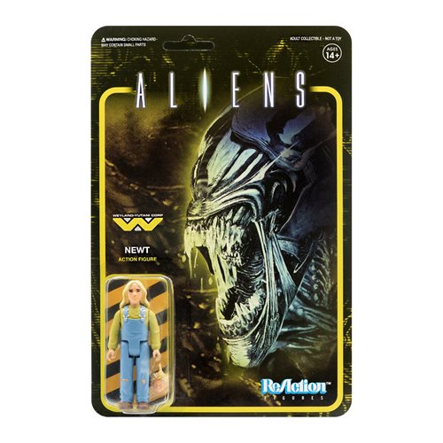 Aliens Newt 3 3/4-Inch ReAction Figure