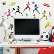 Power Rangers Peel and Stick Wall Decals