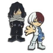 My Hero Academia Shoto and Aizawa Pins 2-Pack