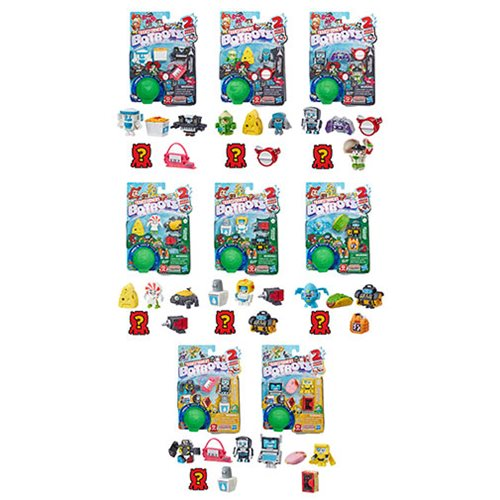 Transformers Botbots Collectible Figures Wave 2 Case