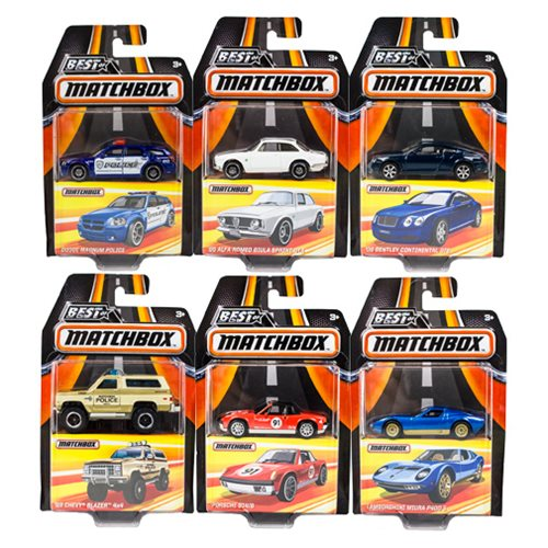 Matchbox Best of 1:64 Scale 2017 Die-Cast Vehicle Mix 2 Case