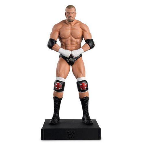 WWE Championship Collection Triple H Statue with Collector Magazine