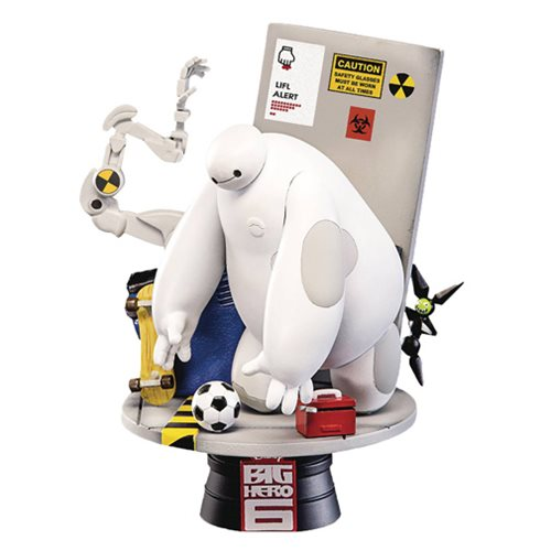 Big Hero 6 D-Select Series DS-003 6-Inch Statue - Previews Exclusive