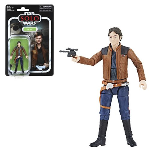 Star Wars The Vintage Collection Han Solo (Solo) 3 3/4-Inch Action Figure