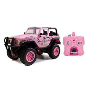 Girlmazing Pink Jeep Wrangler 1:16 Scale Radio Control Vehicle