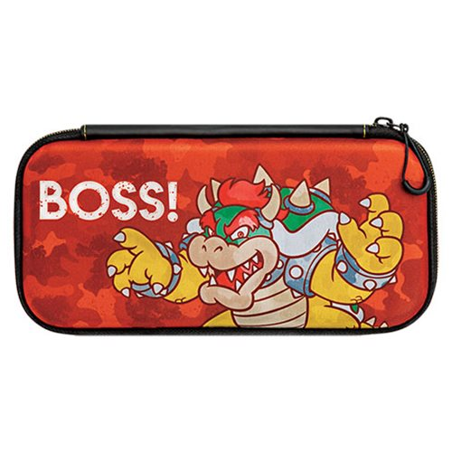 Nintendo Switch Camo Super Mario Bros Bowser Slim Travel Case