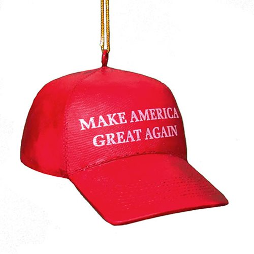 Donald Trump Make America Great Again Hat Ornament