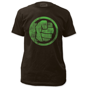 The Incredible Hulk Fist Bump Black T-Shirt