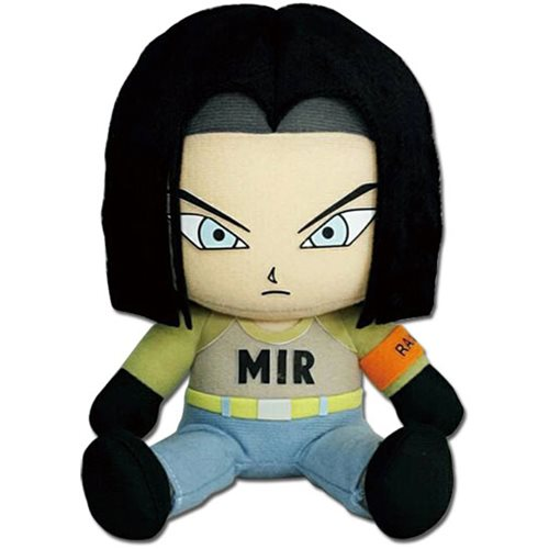 Dragon Ball Super Android 17 Sitting 7-Inch Plush