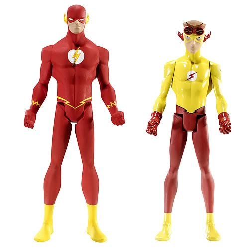 DC Universe Young Justice Flash and Kid Flash Figure 2-Pack