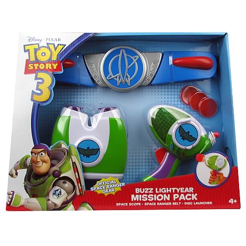 Toy Story 3 Buzz Lightyear Mission Pack Entertainment Earth
