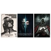 Dishonored Metal Art Print Style A 3-Pack