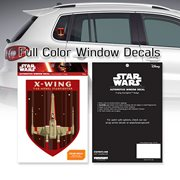 Star Wars X-Wing Starfighter Badge Window Decal