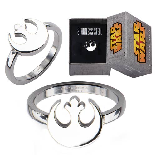 Star Wars Rebel Symbol Cut Out Ring