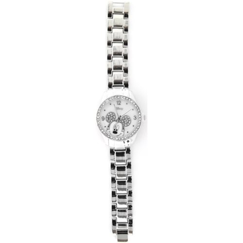 Mickey Mouse Silver Chain Link Watch
