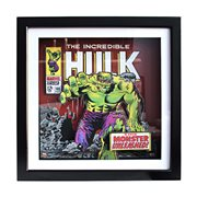 Marvel Hulk Unleashed Wood Shadow Box