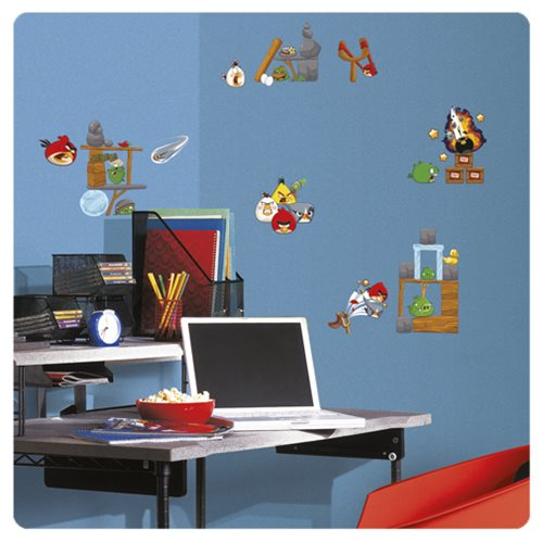 Angry Birds 2.0 Peel and Stick Wall Decals