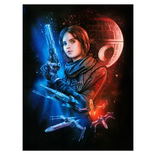 Star Wars Mission for Hope by Claudio Aboy Canvas Giclee Art Print