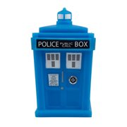 Doctor Who TARDIS Glow-in-the-Dark 4 1/2-Inch Titan Vinyl Figure - Convention Exclusive