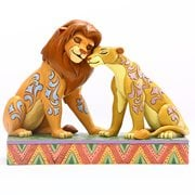 Disney Traditions Lion King Simba and Nala Snuggling Savannah Sweethearts by Jim Shore Statue