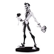 DC Comics Artists' Alley Joker Black and White Variant by Haninanu Nooligan Saulque Vinyl Statue