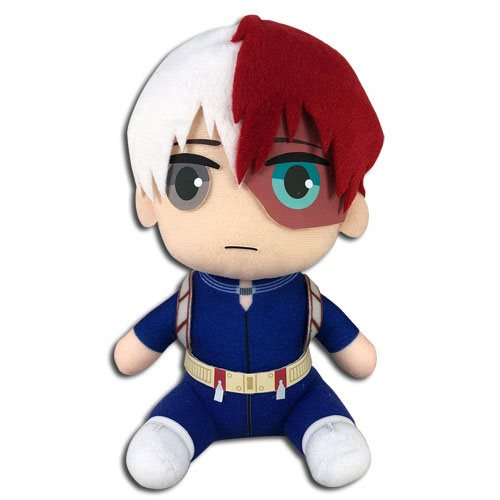 My Hero Academia Todoroki Hero Costume Sitting 8-Inch Plush