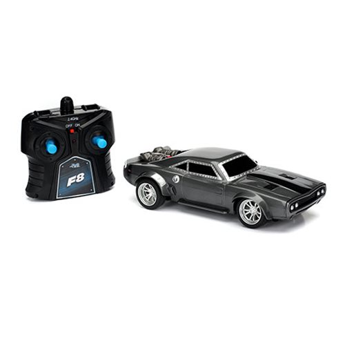 Fast and the Furious 8 Dom's Ice Charger 7 1/2-Inch RC Vehicle