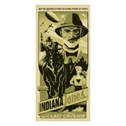 Indiana Jones Have the Adventure of Your Life by Eric Tan Gallery Wrapped Canvas Giclee Art Print