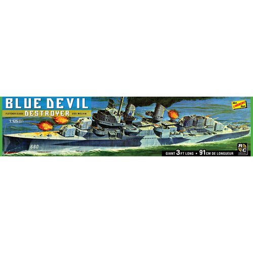 Blue Devil Destroyer 1:125 Scale Model Kit