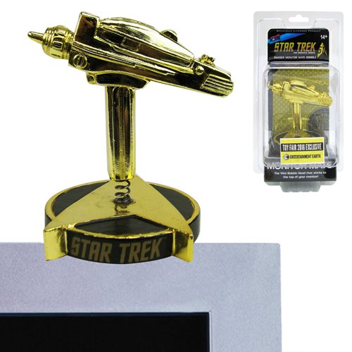 Star Trek: The Original Series Phaser Monitor Mate Gold - 2016 Toy Fair Exclusive