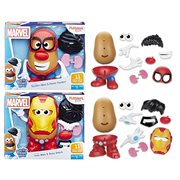 Marvel Mr. Potato Head Spider-Man and Iron Man Case