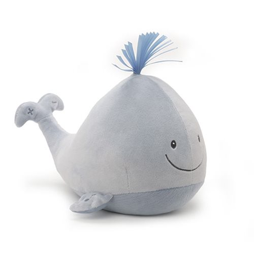 Sleepy Seas Sound and Lights Whale Plush