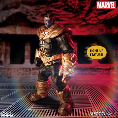Thanos One:12 Collective Action Figure with Light Up Feature