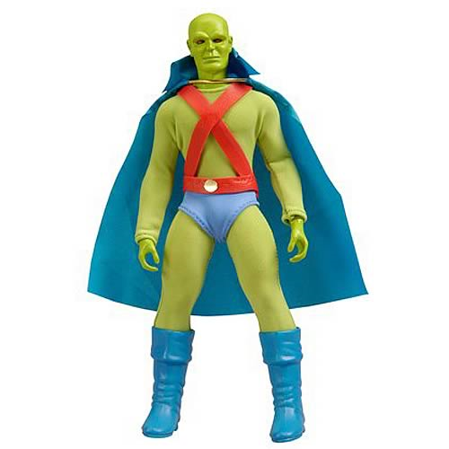 Mattel Martian Manhunter mego style 8 inch action figure