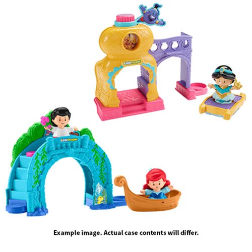 Disney Princess Little People Mini-Playset Mix 2 Case