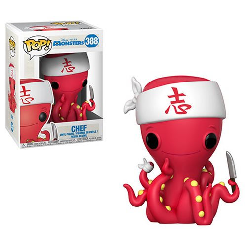 Monsters Inc. Chef Pop! Vinyl Figure